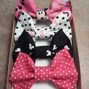 Hot Pink Minnie Mouse Bow Box